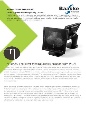 Wide Diagnostic Display CX50N 5MP