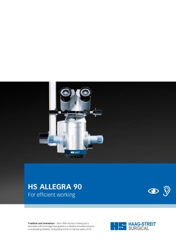 Brochure HS ALLEGRA 90