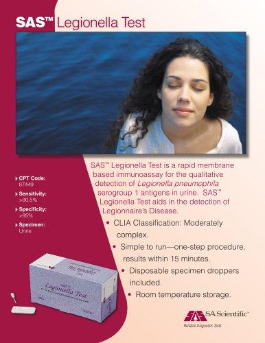 Legionella Product Sheet