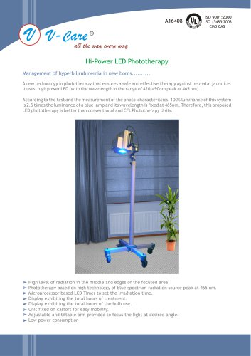 Hi-Power LED Phototherapy