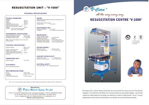Resuscitation Unit - V-1000