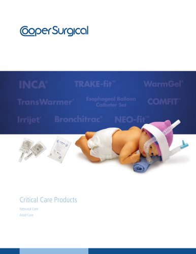 INCA® Infant Nasal CPAP Assembly