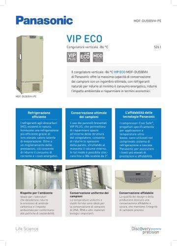 MDF-DU500VH VIP ECO Congelatore verticale -86 °C