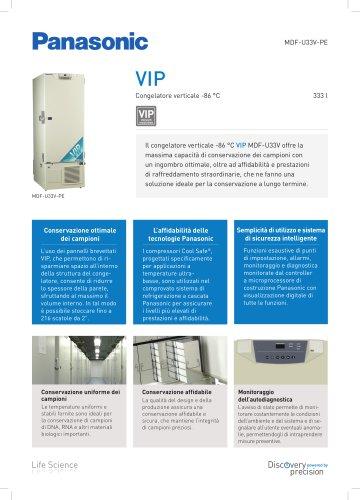 MDF-U33V VIP Congelatore verticale -86°C