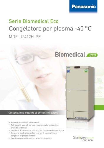 MDF U5412H Biomedical Eco Congelatore per plasma -40 °C
