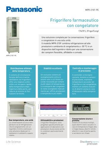 MPR-215F Frigorifero farmaceutico con congelatore
