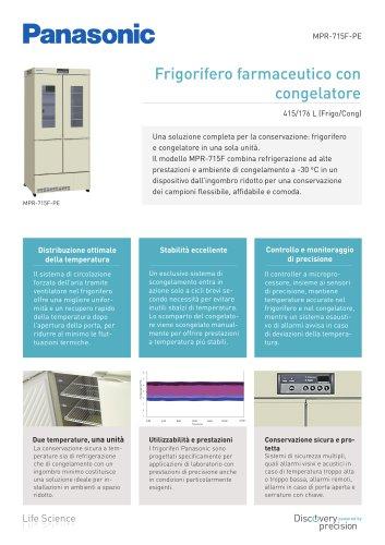 MPR-715F Frigorifero farmaceutico con congelatore