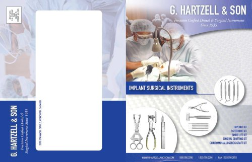 Implant Instrument Flier
