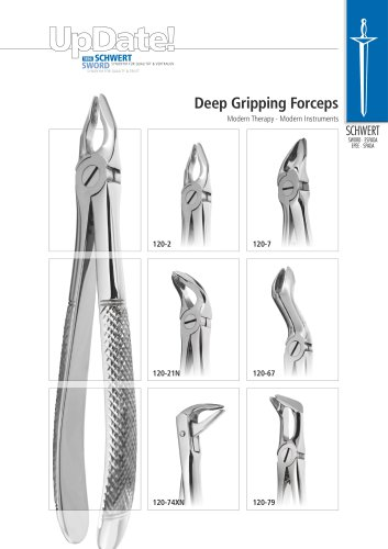 Deep Gripping Extraction Forceps