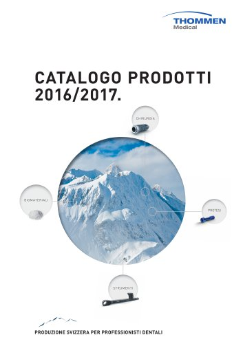 8131016a04f1 Catalogo prodotti 2016 2017. - Thommen Medical AG - Catalogo PDF ...