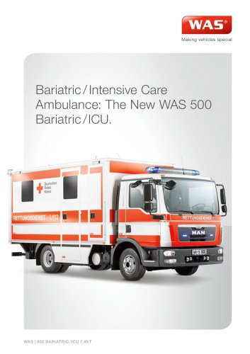 WAS 500 Bariatric / Intensive Care Ambulance