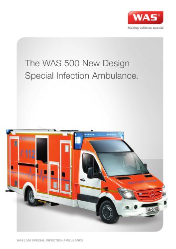 WAS 500 Special Infection Ambulance
