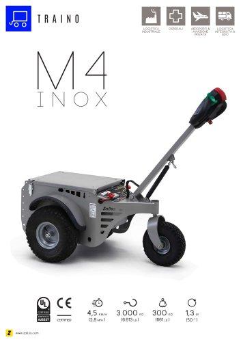 M4 Trainatore elettrico inox