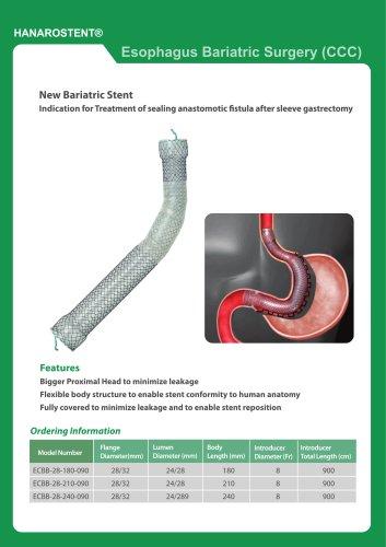 HANAROSTENT® Esophagus Bariatric Surgery (CCC)