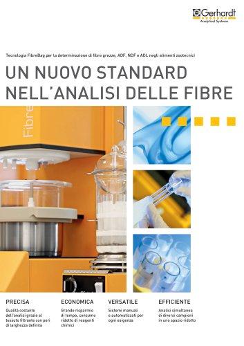 Un nuovo standard nell'analisi delle fibre