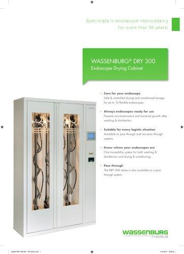 WASSENBURG® DRY 300 Endoscope Drying Cabinet