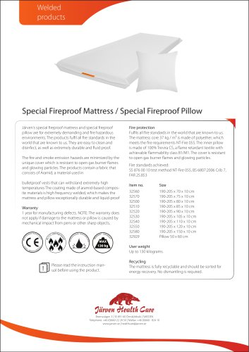 Järven Fire Proof Mattress