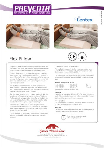 PREVENTA - Flex Heel Pillow