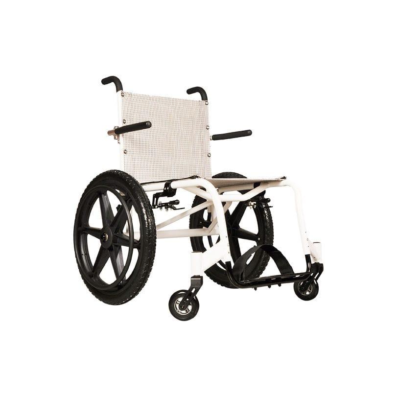 Sedia a rotelle manuale - 499 - IMC MEDICAL - da spiaggia ...