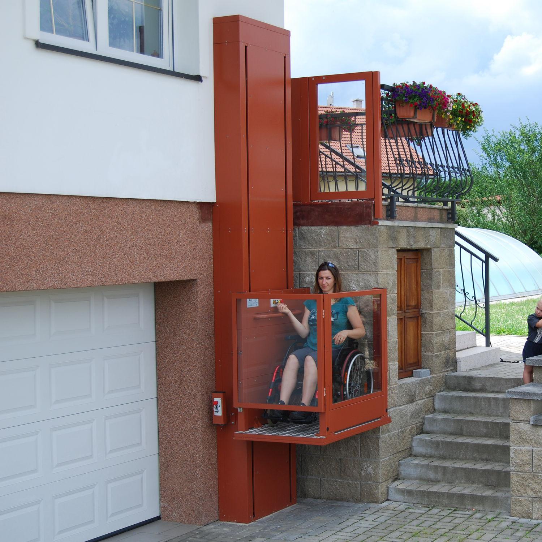 Piattaforma elevatrice per sedia a rotelle - Alpin ...