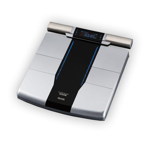 recensione della scala del monitor del grasso corporeo di tanita
