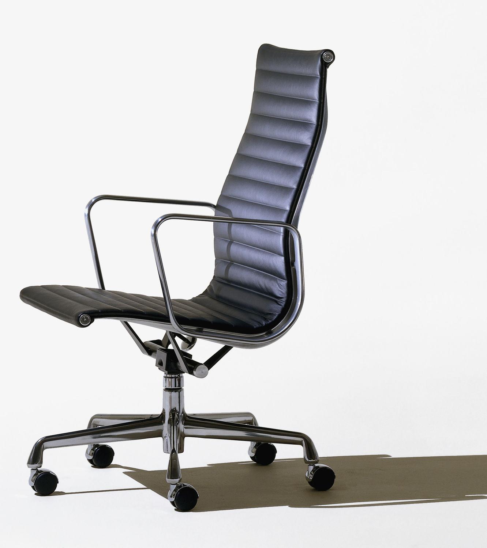 Poltrona Ufficio Eames.Sedia Da Ufficio Con Schienale Alto Con Braccioli