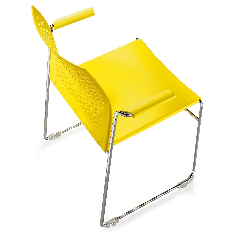 Sedia per sala d'attesa - Net 961 - Borgo - da ufficio ...