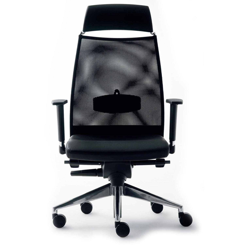 Sedia da ufficio - Link 1053 - Borgo - con braccioli / con ...