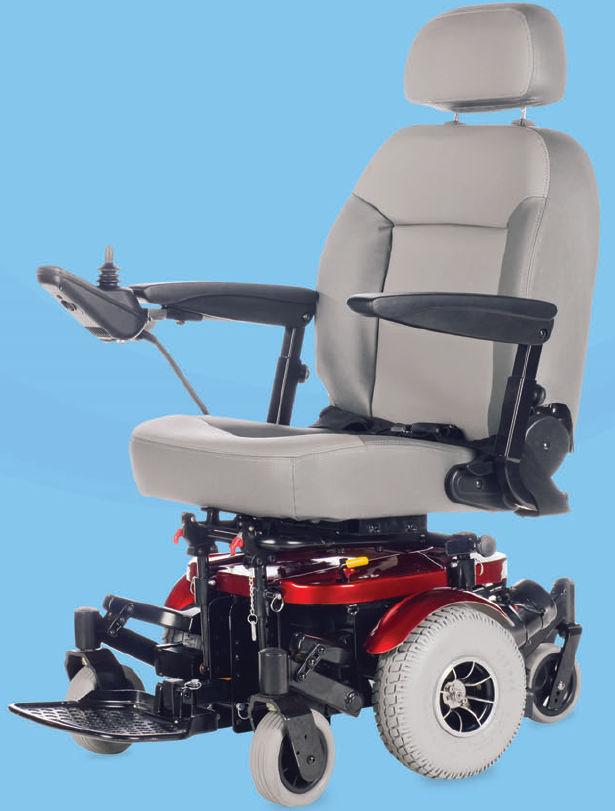 Sedia a rotelle elettrica - 6Runner 10 Deluxe - Shoprider ...
