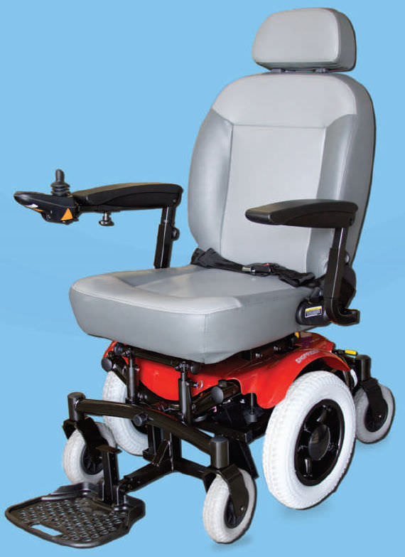 Sedia a rotelle elettrica - 6Runner 14 - Shoprider - da ...