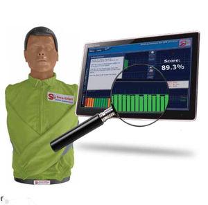 manichino didattico per RCP / torso / con reazione in tempo reale