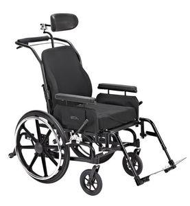 sedia a rotelle passiva / da esterno / da interno / con poggiagambe