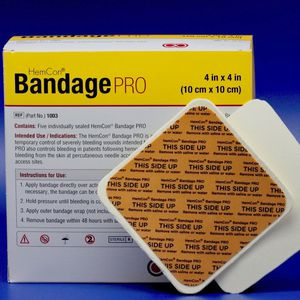 bendaggio / antibatterico / emostatico