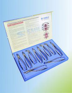 strumentario chirurgico per estrazione dentale