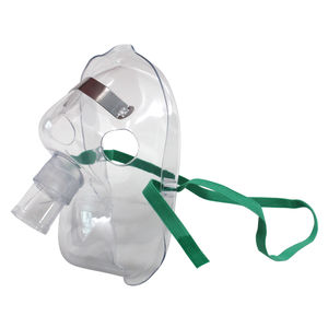 maschera a ossigeno / facciale / per adulto / regolabile