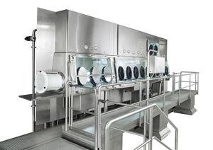 isolatore di contenimento / per distribuzione / di campionamento / per essiccazione