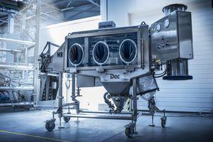 isolatore di contenimento / per distribuzione / per svuotamento fusto / mobile