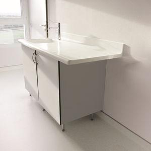 banco da laboratorio in materiale composito / odontoiatrico / per istopatologia / per medicina nucleare
