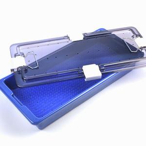 vassoio di sterilizzazione per strumenti / per strumenti ortopedici / in plastica / perforato