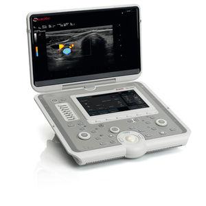 ecografo portatile / per ecografia multidisciplinare / bianco e nero / doppler a colori