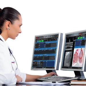 software per reportistica / di analisi / per cardiologia