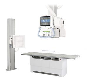 sistema di radiografia / digitale / per radiografia multidisciplinare / con tavolo