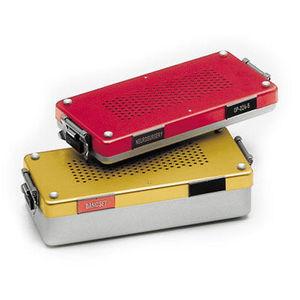 contenitore di sterilizzazione per strumenti di neurochirurgia / per strumenti ORL / per strumenti odontoiatrici / perforato