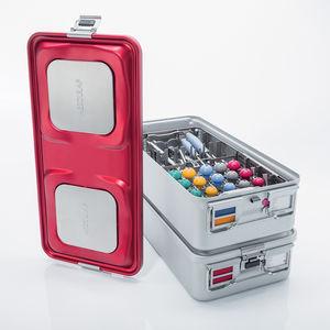 contenitore di sterilizzazione per strumenti / non perforato