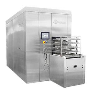 lavastrumenti a termodisinfezione da terra / di grande capacità / automatico