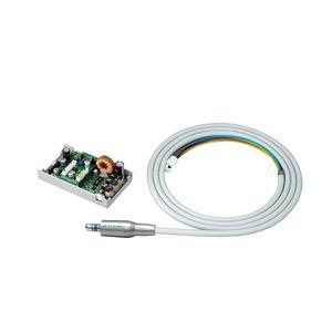 micromotore odontoiatrico / elettrico / con illuminazione LED / con getto d'acqua interno