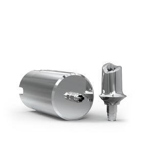pilastro dentale per impianto in titanio