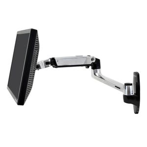 braccio portamonitor a muro