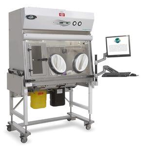 isolatore classe ISO 5 / per farmaci oncologici / asettico / da terra