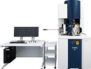 microscopio FIB-SEM
